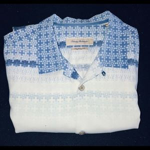 Tommy Bahama Short Sleeve Silk Shirt XXL